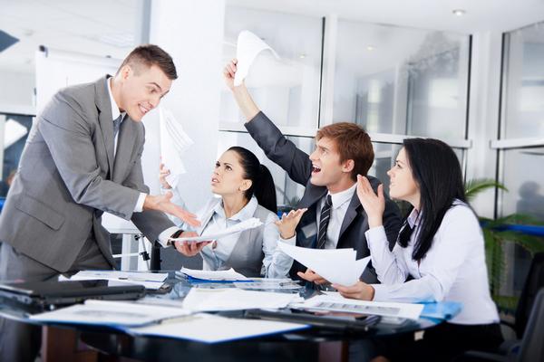 office-fight